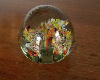 Glass Orb, Paperweight