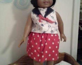 """18"""" doll sailor suit 308E"""