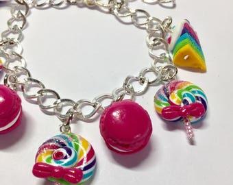 Greed rainbow bracelet