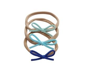 Dainty Bows - Shades of Blue