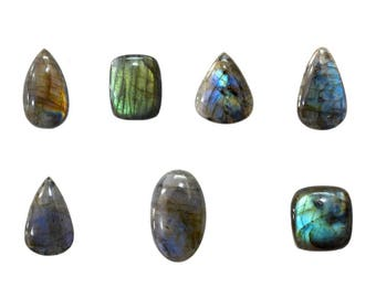 Labradorite 100 % Natural, Non Heated, Non Treated, Mix Sizes & Shapes Gemstones With Beautiful Inclusion At Wholesale Price
