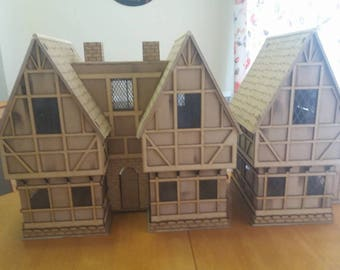 Dolls house combination to make a small Tudor street