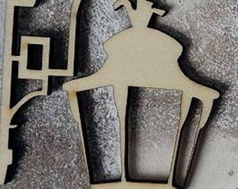 Lamppost 125 embellishment wooden creations