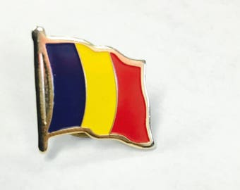 Chad Flag Pins