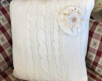 Sweater Pillow