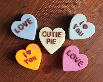 The Sweetie Pie Valentine's Exfoliating Soap