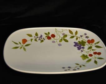 Platter, Noritake Progression Berries N Such
