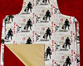 Adults Star wars apron.out in time for the last jedi. May the force be with you this Christmas
