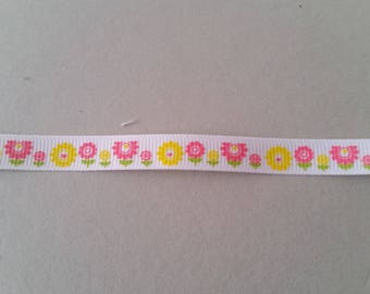 Gros Grain - flower - 10 mm Ribbon