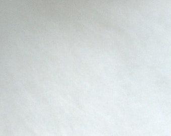 Batting / fleece / fleece white 100% polyester - price per meter