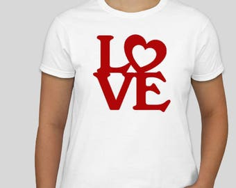 LOVE  Men's and Women's  T-Shirt