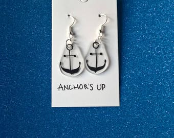 Anchor's UP!,Sea, Nautical Earrings, Anchor Earrings