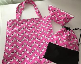 Hello Kitty Handbag Set