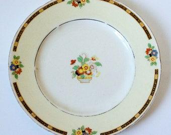 Small Vintage Decorative Plate