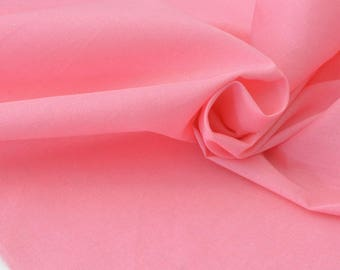 50cm x pink flowing cotton batiste fabric