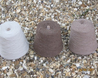 Alpaca Weaving Yarn Cone