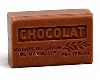 Organic Marseille Soap Chocolate