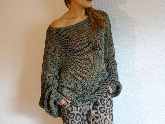 loose knit sweater knit oversized sweater knit pullover