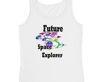 Future Space Explorer Ladies' Tank