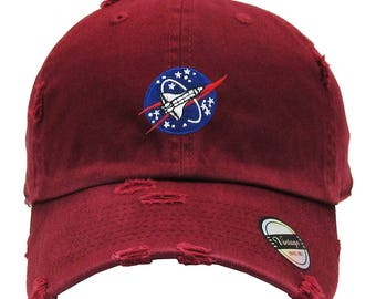 NASA Spaceship Dad Hat Baseball Cap