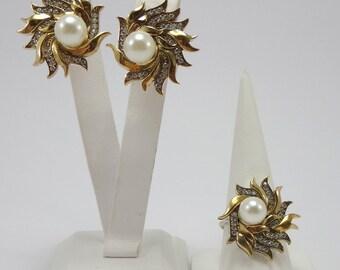 pearl sets,silver jewelry sets, wedding sets, party, 925 sterling silver sets, prom, gift, jewelry sets,bridal set