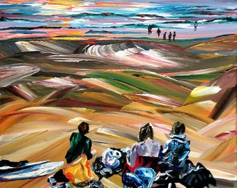 Giclee Print - They enjoyed the view too!