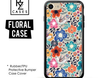 Floral Phone Case, iPhone 7 Case, Flower Phone Case, iPhone 6s Case, Floral iPhone Case, iPhone 5 Case, Case, Bumper Case