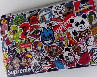Handmade Stickers Laptop Etsy - Vinyl stickers for laptops