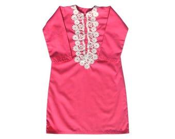Pink Abaya