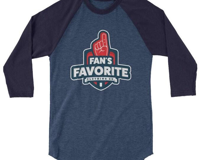 Fan's Favorite Long Sleeve Logo T- Shirt