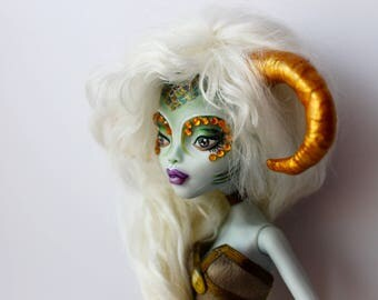 Monster High OOAK  Lagoona Blue Custom Repaint Doll