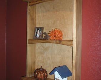 All solid pine wall shelf