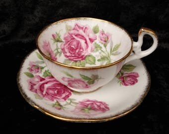 Royal Standard Orleans Rose Cup and Saucer