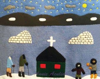 Print #25: A Church on the Tundra