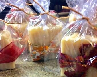 Calendula and chamomile handmade soap