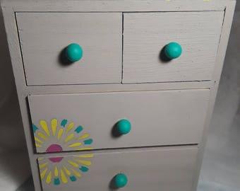 4 drawer jewelry box