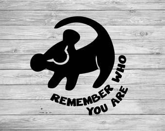 Lion king Simba remember who you are svg, lion king svg, simba svg, Disney lion king svg