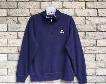 vintage!!! KAEPA sweatshirt embroidered small logo... vintage sweatshirt .. size L