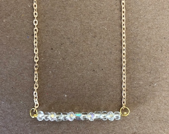 Bead Bar Necklace