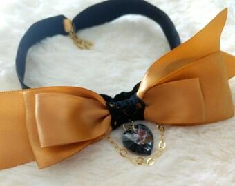 Kensington Bow Necklace / Bow tie
