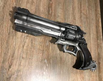 McCree Peacekeeper Gun 1:1 Replica