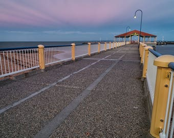 Redcliffe Sunset Print