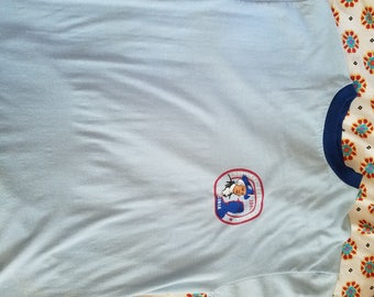 Vintage 1981 Boy Scout Ringer Tshirt Medium