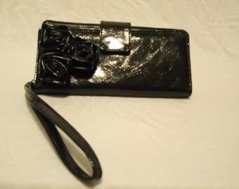 Vintage rose wallet
