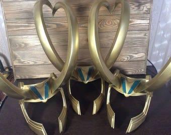 Loki Helmet: Thor 3 Ragnarok