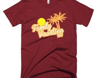 Family Vacation 2017 Short-Sleeve T-Shirt