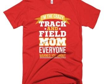 Track & Field Mom Short-Sleeve T-Shirt