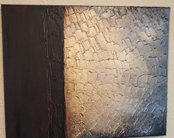 Original, abstract, textured painting / art on 16 x 20 canvas / textured painting / abstract art