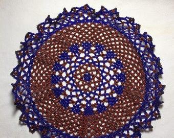 Handmade Beaded Doily