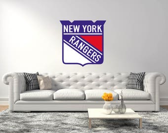 New York Rangers Team Hockey League   Wall Decor For Bedroom And Living Room